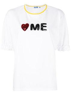 футболка Love Me Steve J & Yoni P