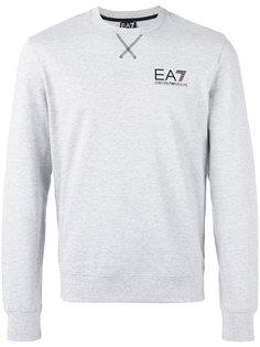 толстовка с принтом логотипа Ea7 Emporio Armani