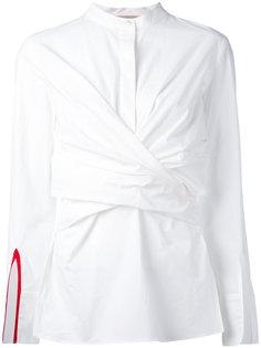 рубашка с запахом Erika Cavallini