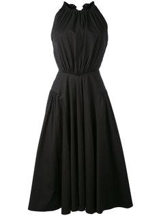 платье с открытой спиной Blumarine