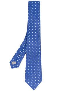 галстук в горошек Canali