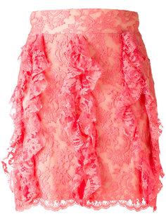 lace mini skirt Francesco Scognamiglio