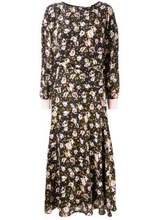 длинное платье с цветочным принтом Essentiel Antwerp