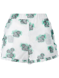 шорты с цветочным принтом Roseanna