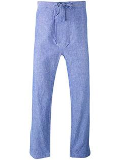 укороченные брюки прямого кроя Mp  Massimo Piombo