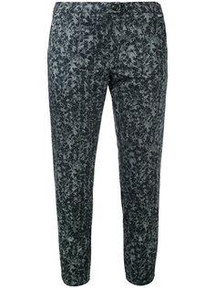 укороченные брюки с вышивкой Woolrich