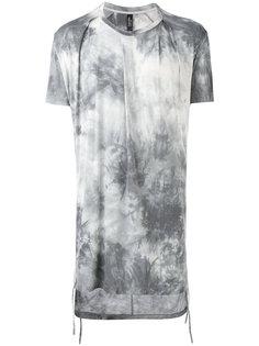 gradient printed long T-shirt Tom Rebl