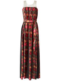 printed gown Cecilia Prado