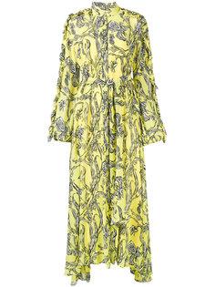 платье макси с цветочным принтом Jacqueline  Ellery