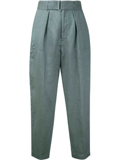 belted peg trousers Cityshop