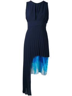 contrast length pleat dress Chalayan