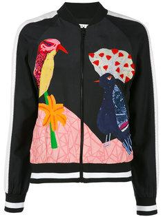 куртка-бомбер  на молнии Felisa  Alice+Olivia