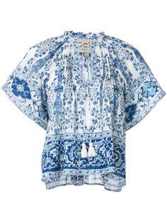 блузка с цветочным принтом Sea