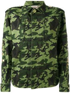 камуфляжная куртка в стиле милитари Each X Other