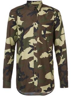 камуфляжная рубашка Givenchy