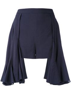 mini flared shorts Chalayan