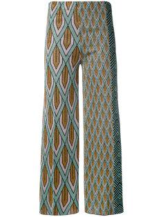 брюки с комбинированным узором Circus Hotel