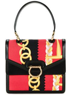 chain pattern handbag Céline Vintage