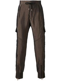 брюки с эластичными манжетами Paul Smith