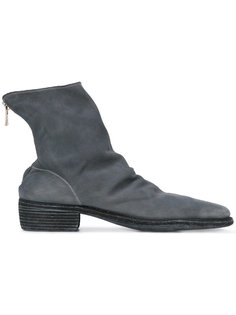 back zip boots  Guidi
