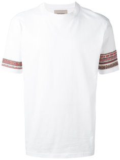 embroidered sleeves T-shirt  Casely-Hayford
