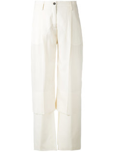 panelled trousers  Aalto