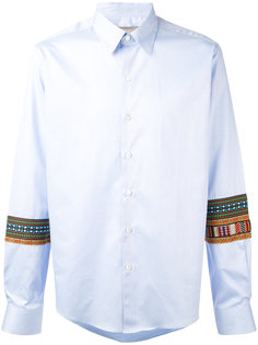 embroidered sleeves shirt Casely-Hayford