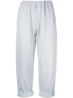 укороченные брюки с подвернутыми манжетами Water