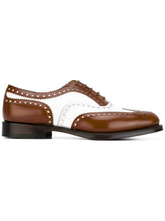 Burwood bicolour brogues  Churchs