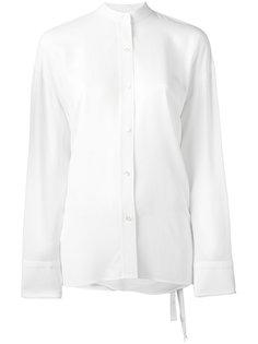 рубашка с запахом на спине Helmut Lang