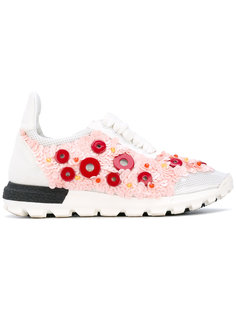 button embellished sneakers No Ka Oi