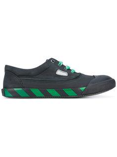 кроссовки с полосатой подошвой Lanvin