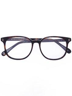 крупные округлые очки Stella McCartney