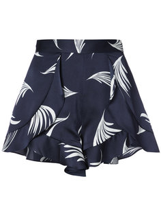 wing print shorts C/Meo