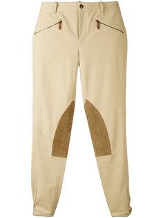 knee patch skinny trousers Ralph Lauren