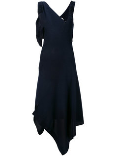asymmetric draped dress Victoria Beckham