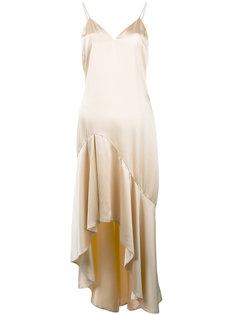 платье с неравномерным подолом Jonathan Simkhai