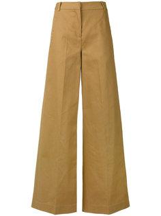 широкие брюки Erdem