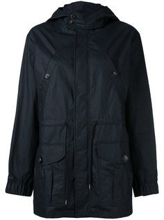 patch pockets hooded raincoat A.P.C.