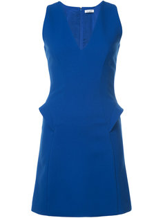 v-neck shift dress Mugler