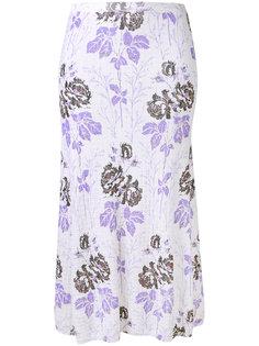 floral skirt Victoria Beckham