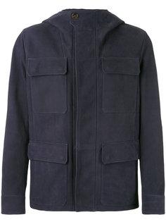 куртка с накладными карманами Berluti