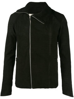 zipped fitted jacket  A New Cross