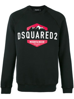 logo-printed sweatshirt Dsquared2