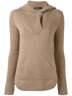 kangaroo pocket hooded jumper Loro Piana