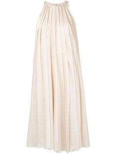 плиссированное платье Lanvin