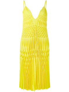 платье без рукавов со сборками Haider Ackermann