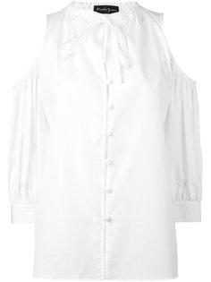 рубашка с открытыми плечами Rossella Jardini