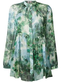 блузка с рисунком Max Mara