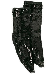 носки с пайетками Off-White